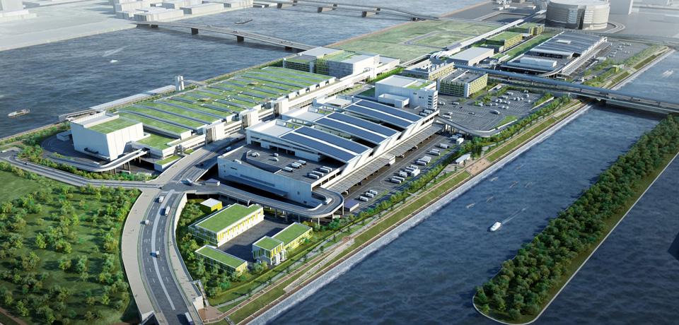 豊洲新市場水産仲卸売場